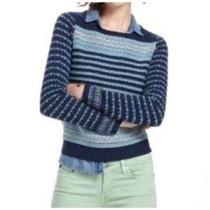 Anthropologie Sparrow Fair Isle  Sweater size S
